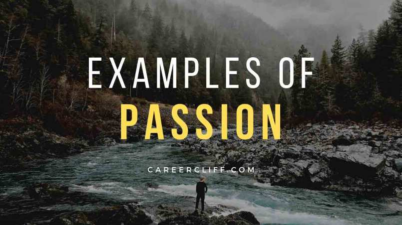 examples of passion