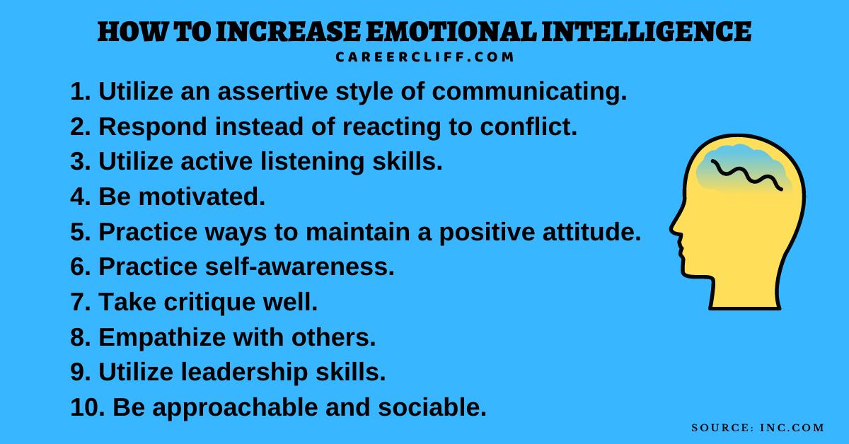 33 Emotional Intelligence Skills One Should Have - Career