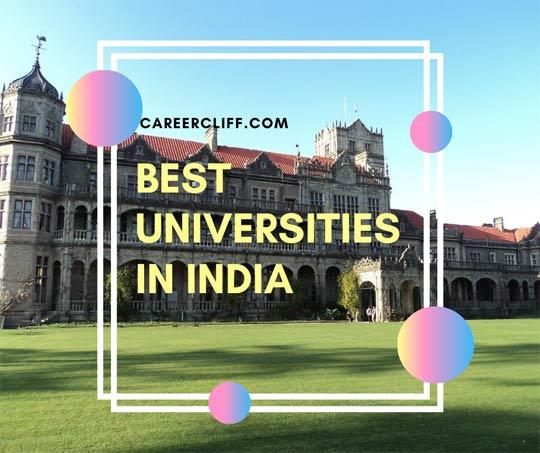 Best Universities in India – QS World Rankings: Asia 2020
