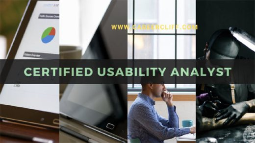 certified usability analyst salary exam career