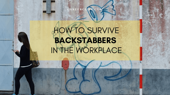 Survival Measures from Backstabbers in the Workplace
