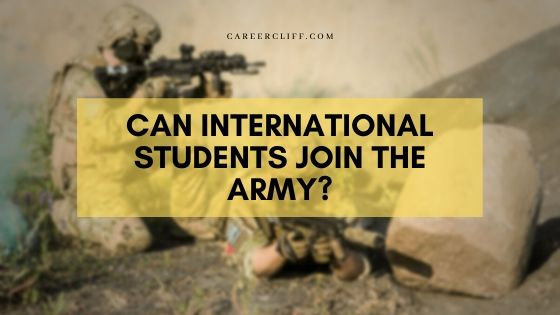 US Army Careers for International Students