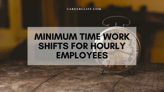 Minimum Hourly Time Between Shifts for Worker