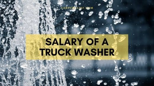 truck washer salary