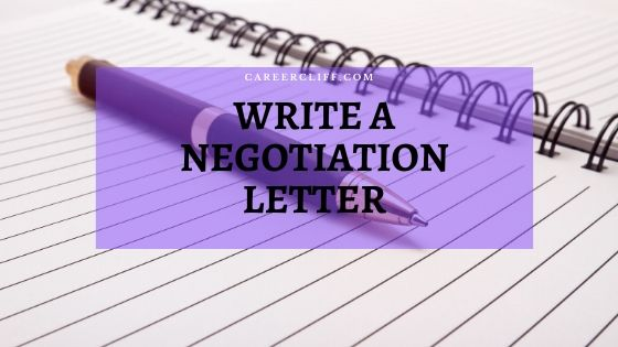 How to Write a Successful Negotiation Letter