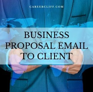 business proposal email to the client
