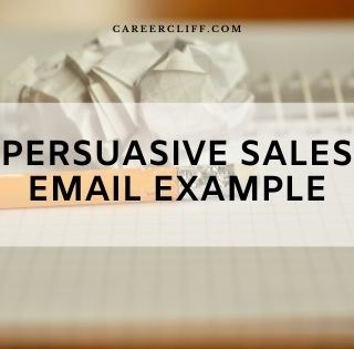 persuasive sales email example