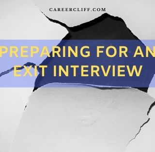 Preparing for an exit interview