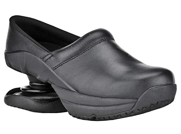 black leather shoes for nursing school