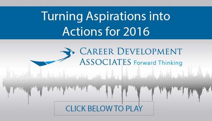 Turning Aspirations Into Actions for 2016