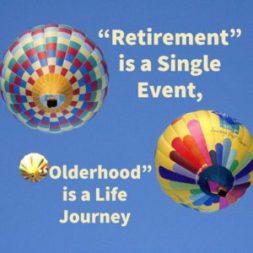 """Olderhood"" is a Life Journey"