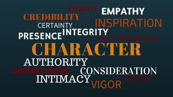 Character Trait Cloud