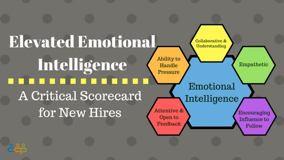 Elevated Emotional Intelligence – A Critical Scorecard for New Hires