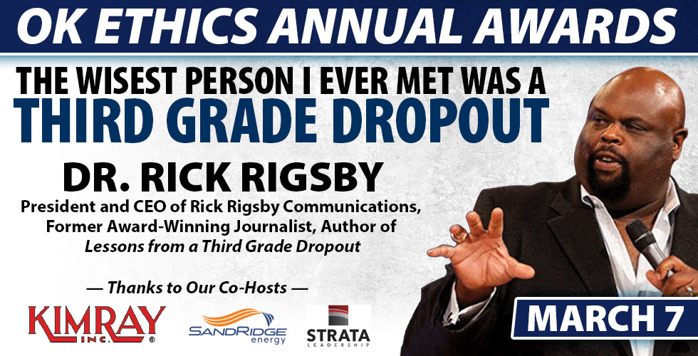 Rick Rigsby to Speak at OK Ethics Annual Awards