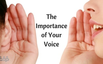 The Importance of Your Voice