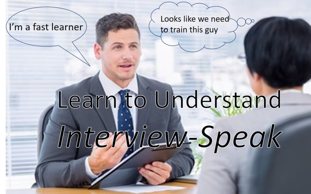 Learn to Understand Interview-Speak