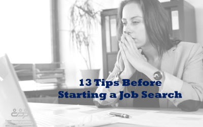13 Tips Before Starting A Job Search