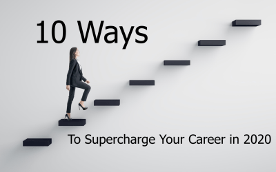 10 Ways to Supercharge Your Career in 2020