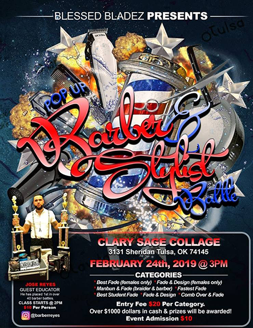 Clary Sage College to Host Pop-Up Barber & Stylist Battle | Career