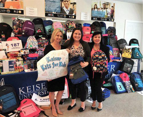 Keiser-University-Kits-for-Kids-Port-St-Lucie