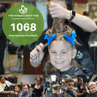 Clary Sage College performed 1068 free haircuts