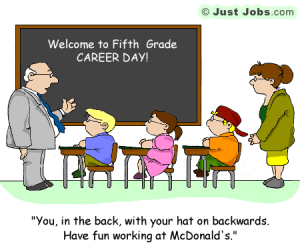 Funny Friday Intern Blues 5th Grade Career Day and Diversity Training