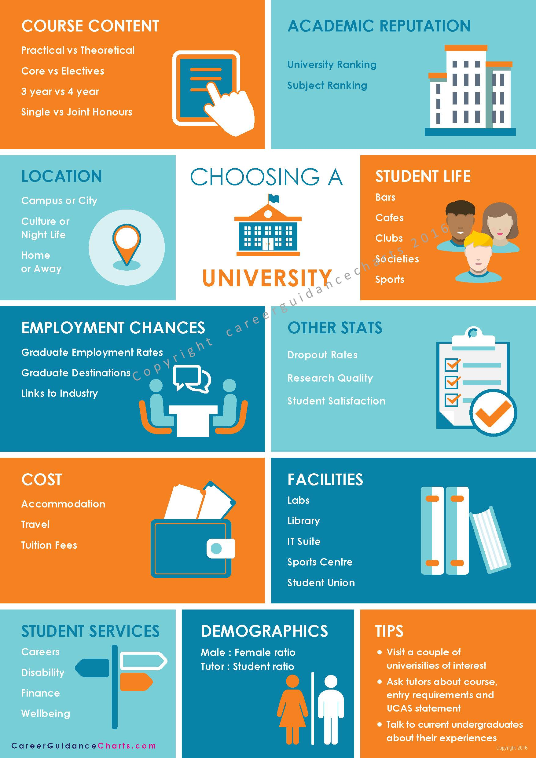 Choosing A University Poster