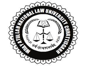 Hidayatullah NLU Raipur Opens LL.M Admission 2012