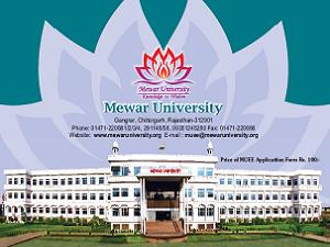 Mewar University Exam Schedule