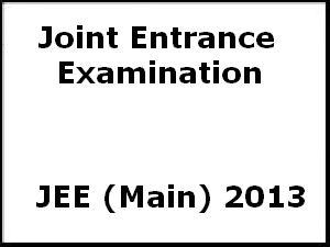 JEE Main 2013: Normalization Procedure for Class 12 board