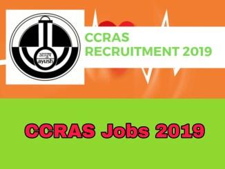 CCRAS Requirement 2019