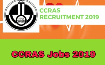 CCRAS Requirement 2019