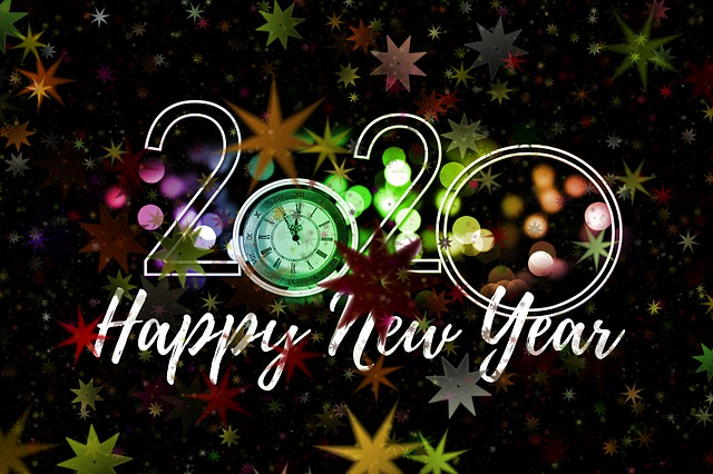 Happy new year wishes 2020
