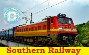 Southern Railway Recruitment 2019