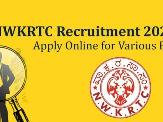 NWKRTC Recruitment 2020