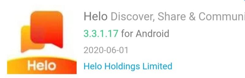 Helo 3.3.1.17 Update
