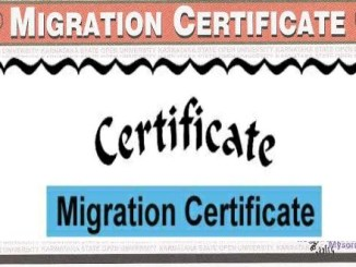 Migration Certificate