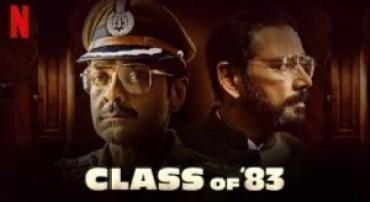 Class of 83 Movie Download filmyzilla