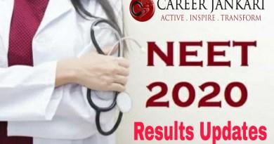 NEET 2020 : NTA Announce Result