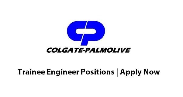 Trainee Engineer Jobs In Colgate Palmolive