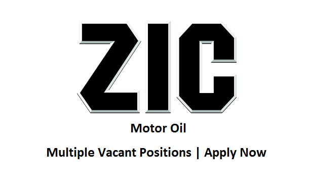 ZIC Motor Oil Jobs Sales Executive Multiple Positions
