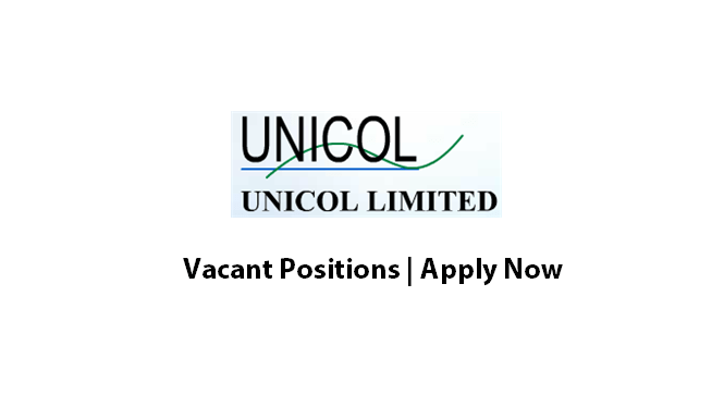 Unicol Limited Jobs Manager Internal Audit