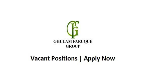 Ghulam Faruque Group Jobs Senior Officer HR