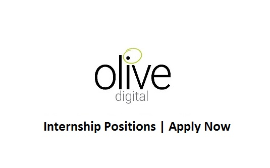 Olive Digital Jobs Internship Mar 2018