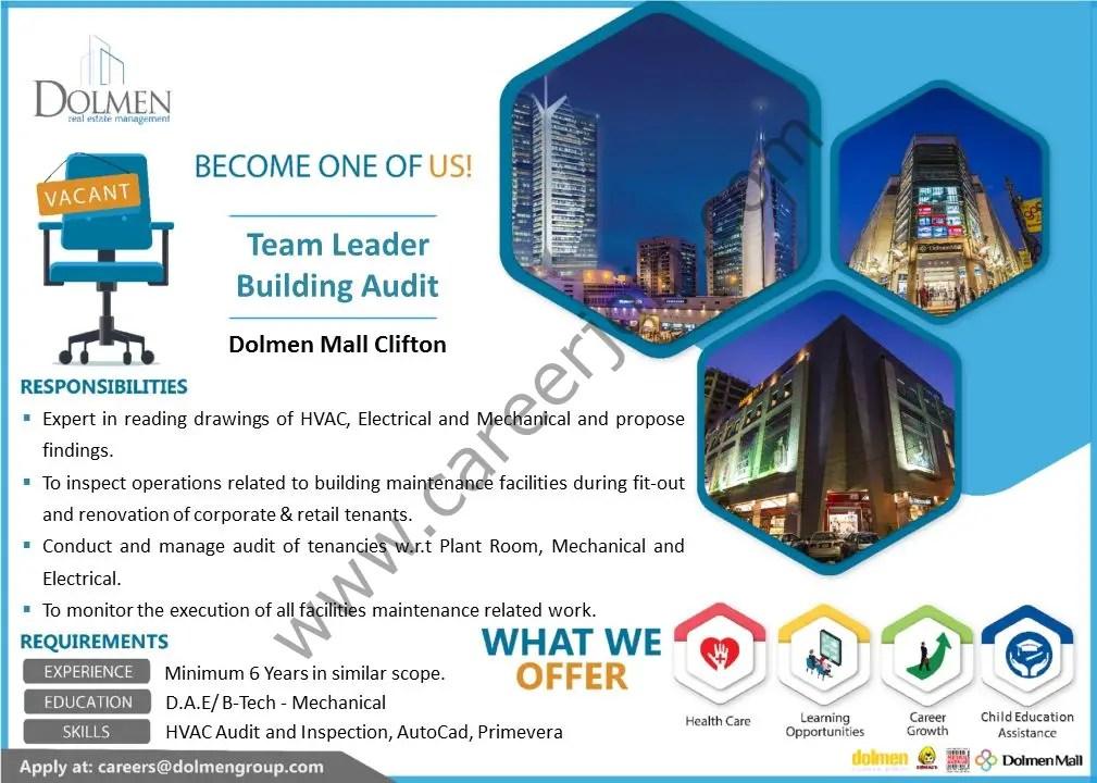 Dolmen Group Jobs September 2021 02