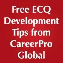 Ecq Online Training Executive Core Qualifications Training
