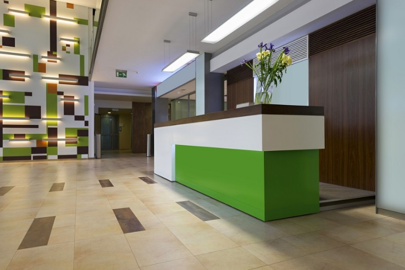 kitchen design jobs islands for sale filled interior office reception