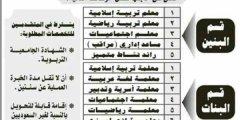 وظائف بشركه المدارس العربية الاهليه مايو2017