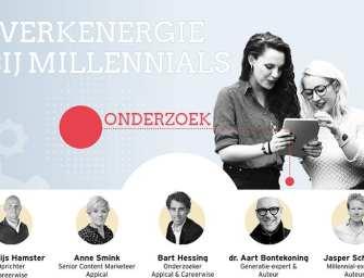 Het Millennial Onderzoek 2018: Millennials & Werk – waar krijg jij energie van?