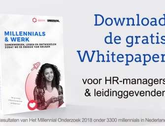 Download Het Millennial Onderzoek – voor (HR-)professionals